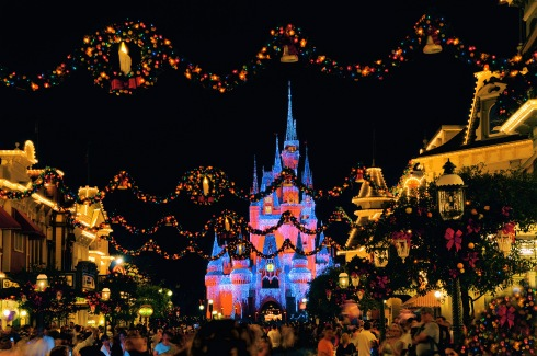 Celebrate the magic of the holiday season with your family at Magic Kingdom Park,