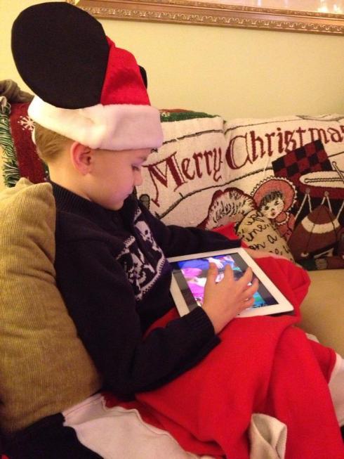 Santa Robert iPad