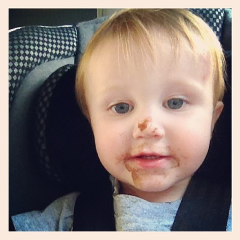 ice cream face