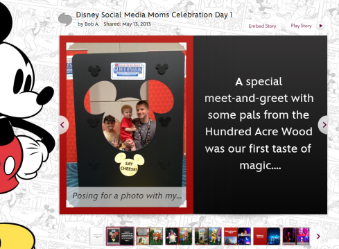 Disney Story DisneySMMoms Day 1