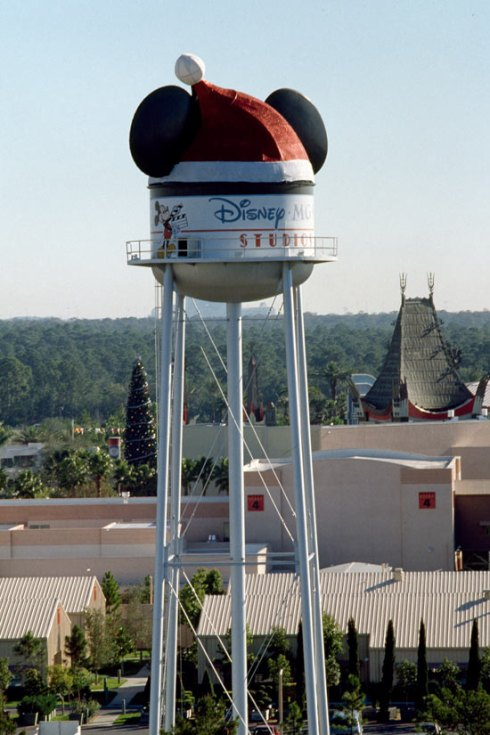 The Earffel Tower at Disney-MGM Studios in 1989.