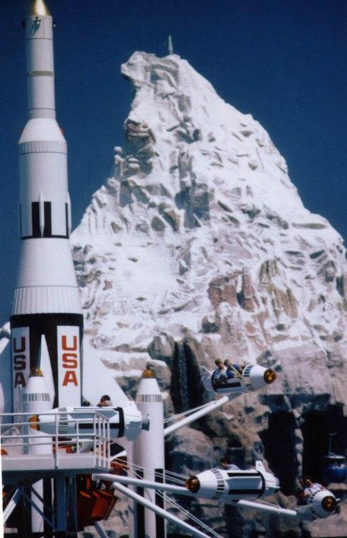 Disneyland's Matterhorn