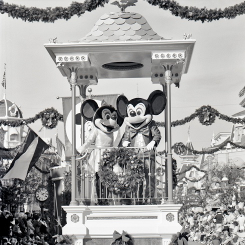 Magic Kingdom Park has celebrated the holidays with a Christmas Parade since opening in 1971. Here's a look at the parade back in 1976 traveling down Main Street, U.S.A.