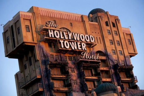 The notorious Hollywood Tower Hotel