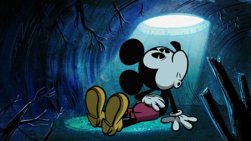 Mickey's world gets a bit spooky in the newest cartoon, Ghoul Friend.