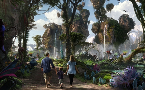 Walt Disney Imagineering in collaboration with filmmaker James Cameron and Lightstorm Entertainment is bringing to life the mythical world of Pandora, inspired by Cameron's Avatar, at Disney's Animal Kingdom.