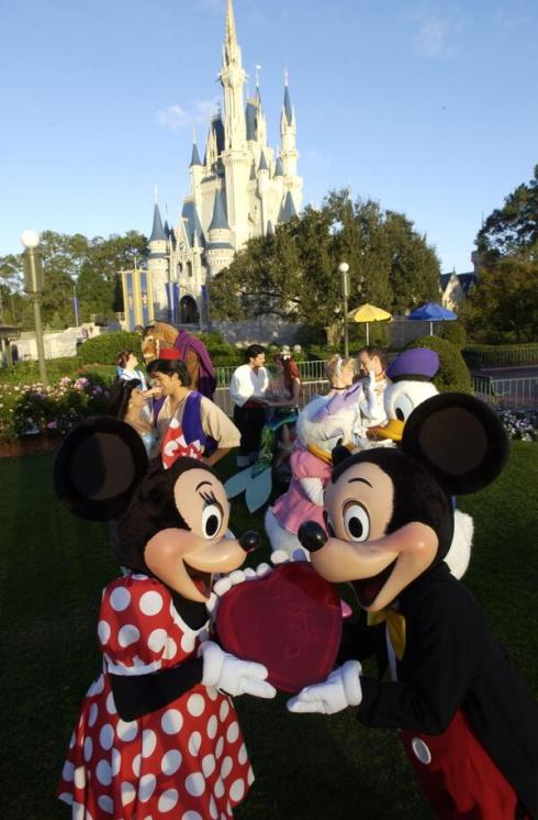 Happy Valentine's Day from Walt Disney World!