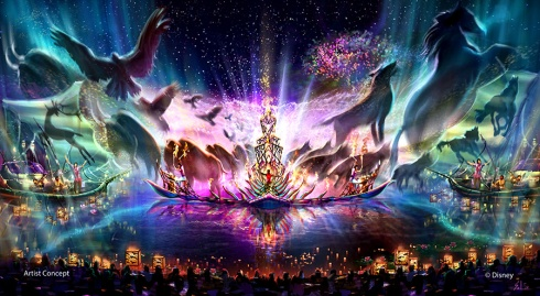 """Rivers of Light"" nighttime spectacular"
