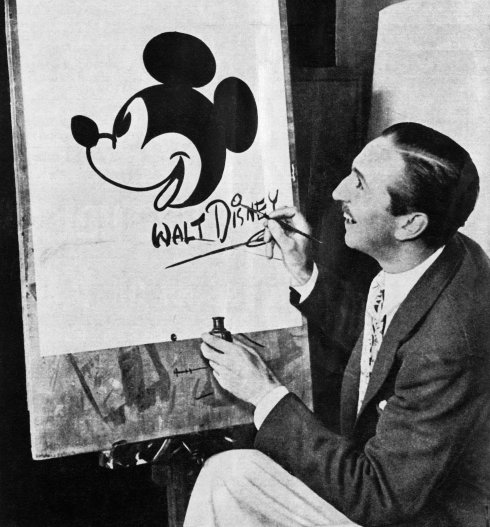 """Mickey was simply a little personality assigned to the purposes of laughter."""