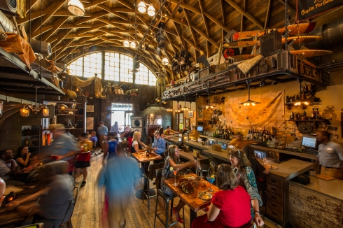 Jock Lindsey's Hangar Bar at Disney Springs